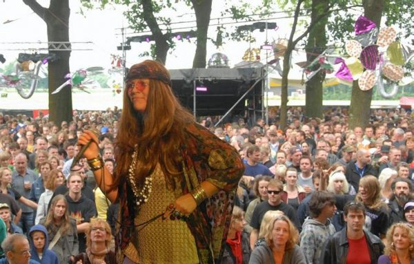 Janis live op festival